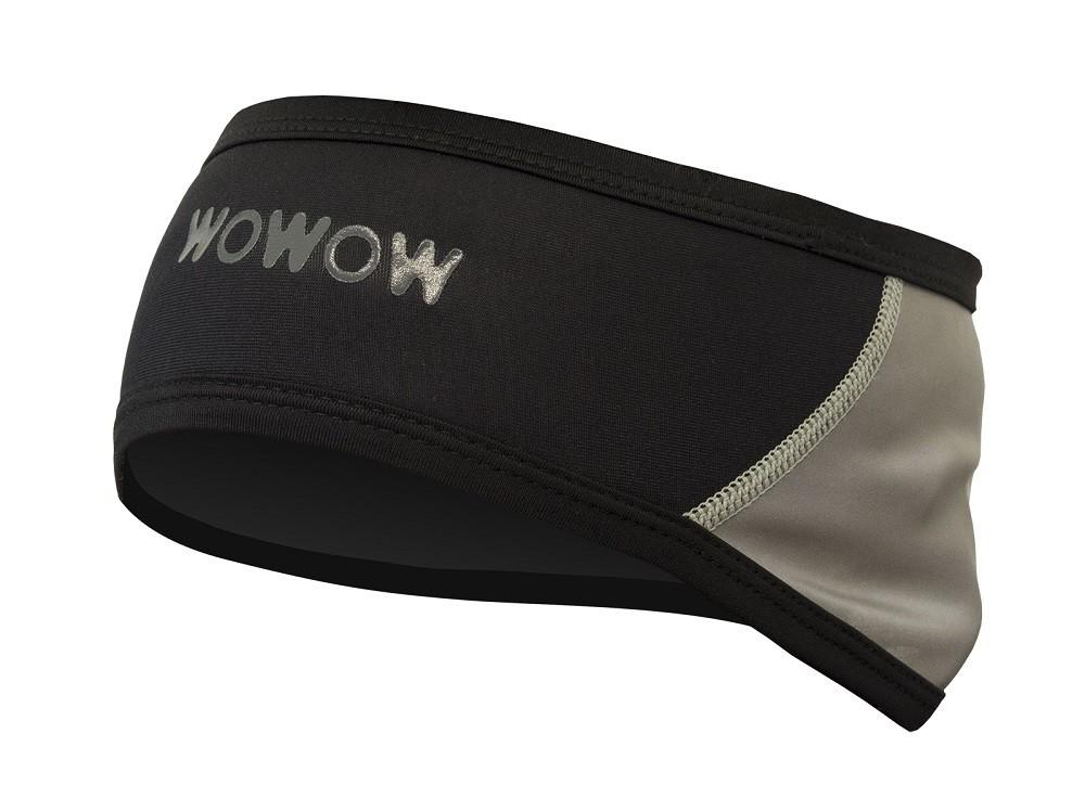 Wowow Reflective Hairband - bandeau noir réfléchissant