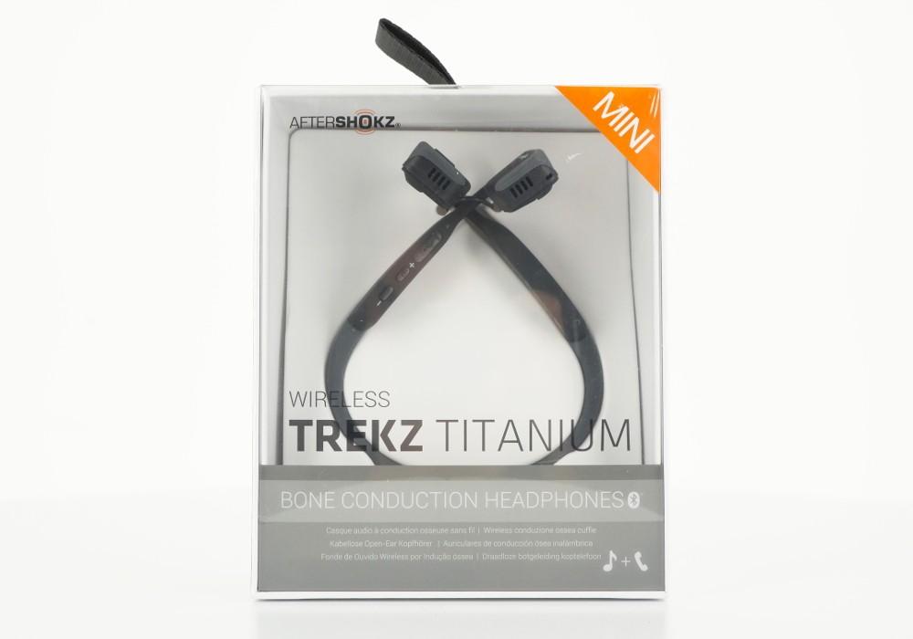 Aftershokz Casque  Bluetooth TREKZ TITANIUM MINI à conduction osseuse GRIS