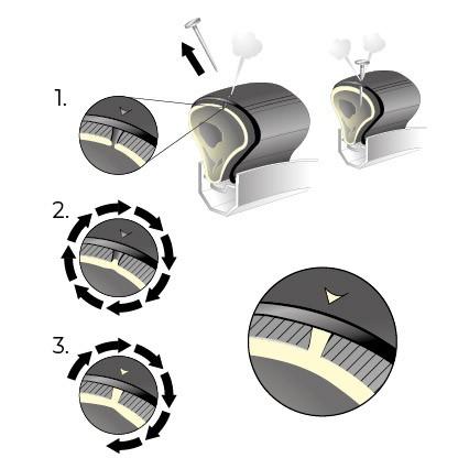 add one chambre air increvable 26 valve schrader. Black Bedroom Furniture Sets. Home Design Ideas