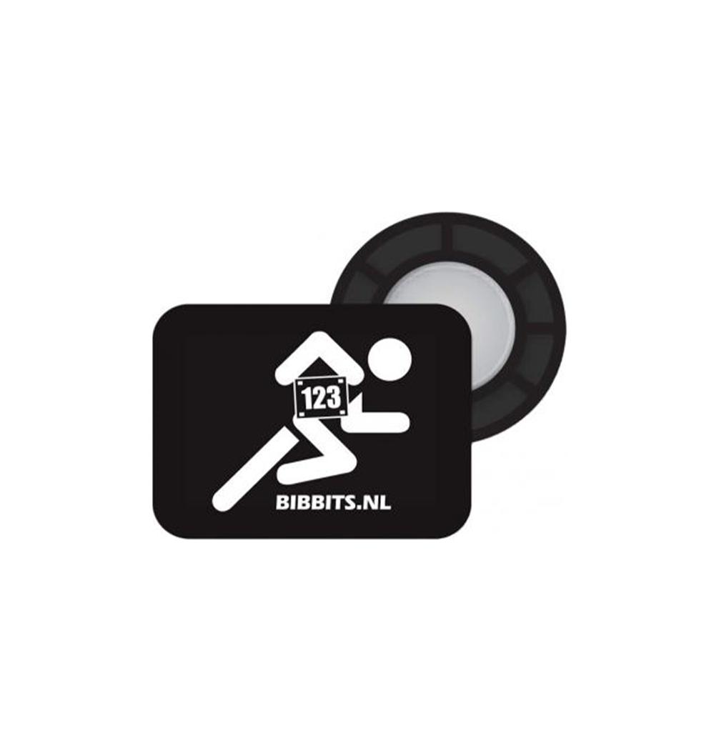 Accroches dossards magnétiques BIBBITS silhouette coureur